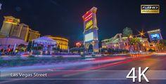 Vegas Street at Night