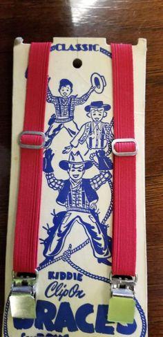 RARE Vintage Op Ocean Pacific Suspenders braces Deadstock YOUTH nos VTG 80/'s