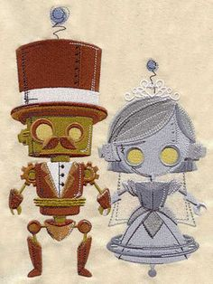 Steampunk Wedding design (UT3410) from UrbanThreads.com