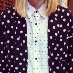 Big polka dot vs. little polka dot. #urbanoutfitters