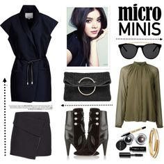 New Trend: Micro Mini Skirts by junglover on Polyvore featuring moda, Diesel Black Gold, 3.1 Phillip Lim, Isabel Marant, Victoria Beckham, Madewell, Smoke & Mirrors and Bobbi Brown Cosmetics