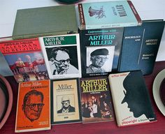 Arthur Miller 1915-2005 American playwright  by ProsperosBookshelf https://www.etsy.com/listing/163626083