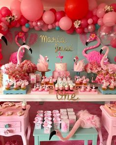 2a782d090 Fiestas decoras en color rosa flamingo, Colores de moda para fiestas, Color  del año