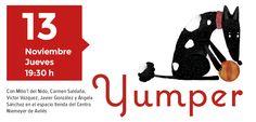 """El 13 de noviembre presentamos """"Yumper"""" en el espacio tienda del Centro Niemeyer (Avilés)."""