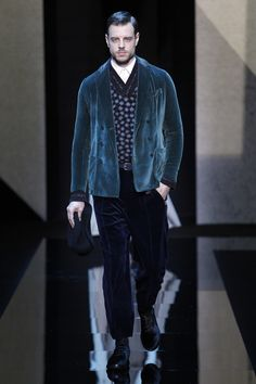 Giorgio Armani | Menswear - Autumn 2017 | Look 30
