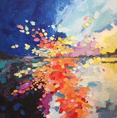 Joanna Posey Art abstract sunscape