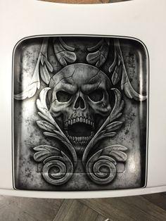 Skull Painting, Air Brush Painting, Baggers, Choppers, Motorcycle Paint, Pinstriping Designs, Custom Tanks, Chicano Art, Custom Paint Jobs