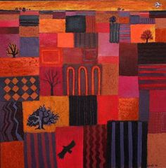 Carry Akroyd - Painter & Printmaker - Earlier Work Carrie, Female Art, Printmaking, Landscapes, Vibrant, Artists, Sculpture, Watercolor, Make It Yourself
