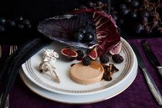 Diner with Hannibal Lecter| Janice Poon, Food Stylist (Cold Foie Gras Torchon with Late Harvest Vidal Sauce, Dried Figs, Warm Fresh Figs, and Blackberries)
