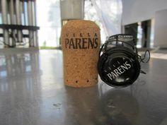 A VILLA PARENS' bottle sparkling wine.
