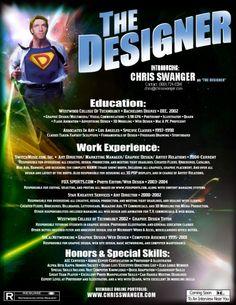 Movie Poster Resume