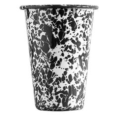 Enamelware 14 Ounce Tumbler - Black Marble, 2015 Amazon Top Rated Old Fashioned Glasses #Kitchen