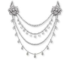 White gold Diamond Necklace - Piaget Luxury Jewellery G37LE500