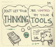 Don't let your thinking be limited by your tools.  Something I try to keep in mind whenever I set to thinking and run out of space. As much as possible, find tools that don't limit your thinking.