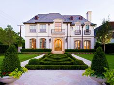 French Normandy chateau, Highland Park, Texas
