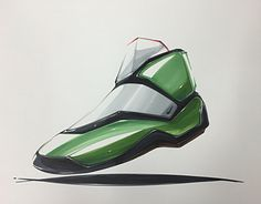 Shoes marker rendering