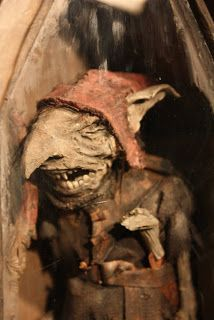 "Curiomira: Wunderkammer "" The Redcap Robin Redcap, goblin fiend. Captured at Hermitage castle, Scotland."""