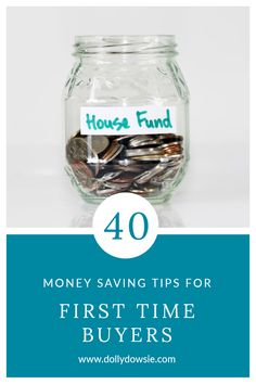 40 money saving tips for first time buyers that will help you save money to buy your first home Savings Challenge, Money Saving Challenge, Money Saving Tips, Managing Your Money, Save Your Money, Buying Your First Home, Home Buying, Mortgage Tips, Car Loans