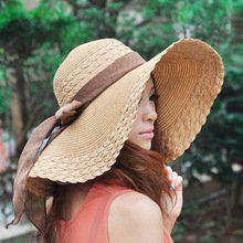 Fashion Women Wide Large Brim Floppy Summer Beach Sun Hat Straw Hat Cap with Big Bow katop http://www.amazon.com/dp/B00UX2TS1W/ref=cm_sw_r_pi_dp_tbfMvb0BTKZ1K
