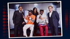 Stephen A. and Skip Bayless Photobomb Fans