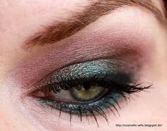 ... noch ein Make up Blog ...: AMU mit diversen MAC's (Club, Trax, Shimmermoss) - ein Abend mit Grönemeyer