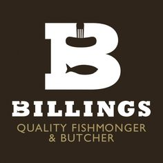 'Billings Quality Fishmonger & Butcher' logo by Good People.