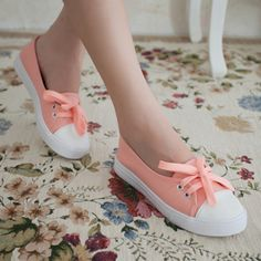 Summer low shallow mouth canvas shoes female shoes fresh breathable casual shoes lazy flats size 35-39 $7.99 - 14.99