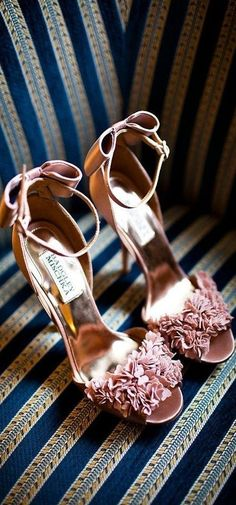 wedding shoes pumps 19 Most Popular Badgley Mischka Wedding Shoes - MODwedding Bow Shoes, Cute Shoes, Me Too Shoes, Shoes Sandals, Pink Shoes, Blush Shoes, Pink Sandals, Pretty Shoes, Heeled Sandals