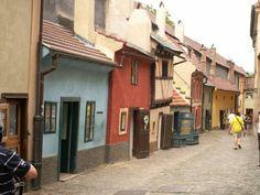 The Golden Lane, Prague Castle '09