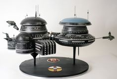 Chef Duff Goldman's Charm City Cakes created this amazing cake replica of a Gallente Space Station from the game Eve Online