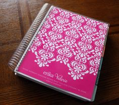 My beloved Erin Condren Life Planner