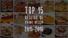 Las 15 recetas más vistas de Bruno Oteiza
