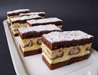 Hungarian Desserts, Hungarian Recipes, Polish Desserts, Cake Bars, Something Sweet, Sweet Recipes, Cookie Recipes, Cake Decorating, Sweet Tooth