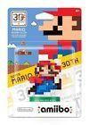 Super Mario Bros. 30th Anniversary 8-Bit Mario Modern Color Amiibo Figure - Full read by eBay