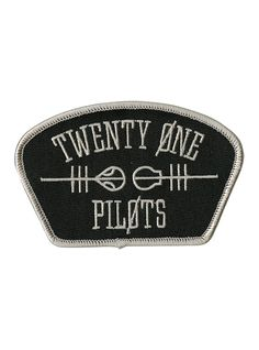 """Rep your favorite band, Twenty One Pilots, with this shoulder style patch featuring an embroidered band logo design.<br><ul><li style=""""LIST-STYLE-POSITION: outside !important; LIST-STYLE-TYPE: disc !important"""">2 1/2"""" x 4""""</li><li style=""""LIST-STYLE-POSITION: outside !important; LIST-STYLE-TYPE: disc !important"""">Imported<br></li></ul>"""