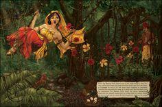 Bawang Putih (Digital) by Alison Mutton | www.alene-art.com