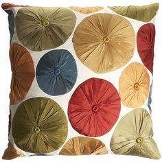 Taffeta Dot Pillow