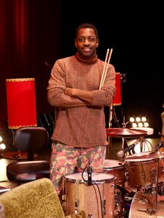 steve jordan drummer | Verbs Steve Jordan, with The Verbs, Shibuya Steve Jordan, High Fi, Ludwig Drums, Drums Art, Music Rooms, Cool Jazz, How To Play Drums, Drummer Boy, Jazz Musicians