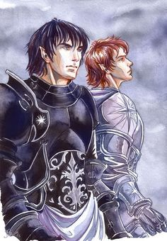 Fëanor and Maedhros, by Jenny Dolfen. Hate Feanor. Like the picture.<---It is nearly impossible to hate Fëanor.  I don't!
