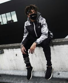 Follow me for more pins of street wear Hip Hop Fashion, Dope Fashion, Urban Fashion, Mens Fashion, Vest Outfits, Cool Outfits, Fashion Outfits, Street Outfit, Street Wear