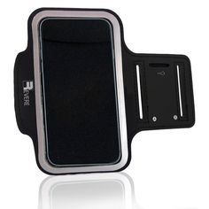 Revere Sport Cell Phone Arm Band Case for iPhone 6 / 6s / 5 - Black. PROTECTS YOUR PHONE FROM SWEAT: The No1 complaint with other Armbands is that sweat can damage your phone. NO MORE!! Our New ADVANCED Neoprene material will stop sweat from getting to your phone. Also the neoprene is super Grippy and it will NOT fall down your arm during exercise. Don't risk your $$$ Smartphone? Treat yourself to the very BEST!!. SUPER LIGHTWEIGHT & COMFORTABLE: Workout in comfort with the premium phone...