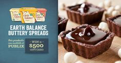 When your sweet treats are perfectly plant-made, what's not to love? Pick up all your Earth Balance® favorites at Publix, and enter to win a $500 grocery gift card to help you Spread the Love!