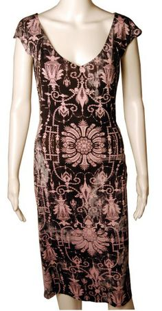 The Dress that caused DVF to write memoir... http://refashioner.com/product/dvf-silk-jersey-print-dress-with-a-story