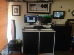 Storm Trooper Stand Up Desk