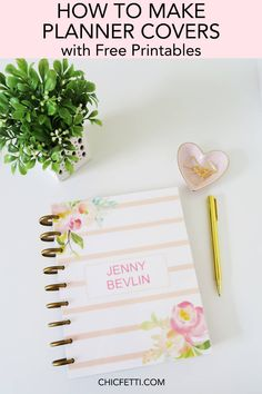 Happy Planner Cover, Planner Covers, Planner Pages, Printable Planner, Planner Ideas, Planner Inserts, Printable Calendars, Free Printables, Discbound Planner