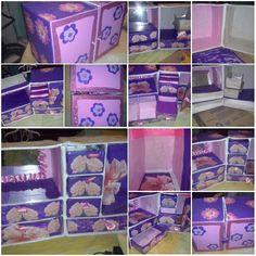 Organizador Alajero,Tipo Closet,En Caja De Carton