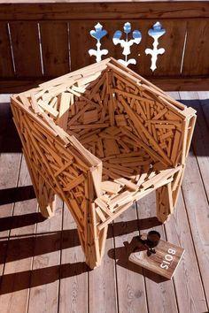 Pallet Furniture, Furniture Design, Alpine Lodge, Mountain Cottage, Chalet Style, Wooden Pallets, Pallet Wood, Wood Creations, Wooden Crafts