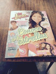 Una revista de soy Luna y puedes conocer a las estrellas