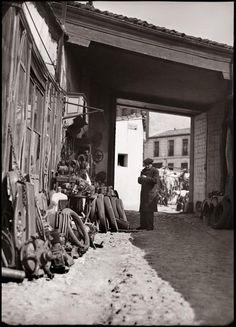 Chatarrería en el Rastro Diego González Ragel Madrid, c. 1930