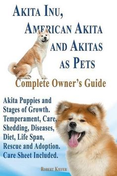 Akita Inu, American Akita and Akitas as Pets. Akita Puppies and Stages of Growth. Temperament, Care, Shedding, Diseases, Diet, Life Span, Rescue and a  Read  more http://dogpoundspot.com/akita-inu-american-akita-and-akitas-as-pets-akita-puppies-and-stages-of-growth-temperament-care-shedding-diseases-diet-life-span-rescue-and-a/  Visit http://dogpoundspot.com for more dog review products